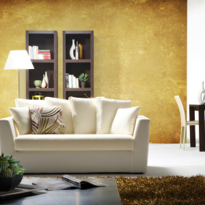 Golden Hue; Surround yourself with the glow of gold, which subtly states and underlines your success and enlivens your space.